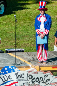 Phil Merry hosts the July 4, 2014, Celebration at Mountain Harbor Resort